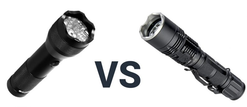 Tactical Flashlight vs Regular Flashlight – What's the Difference?