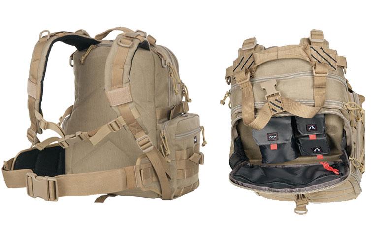 storage space of gps range backpack