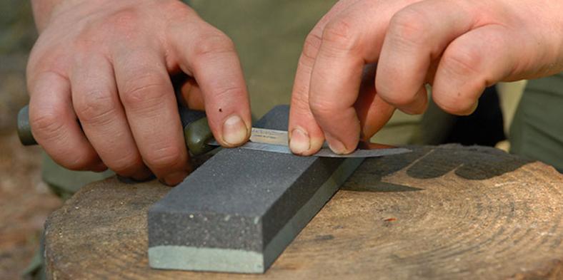 Bushcraft Knife Sharpening