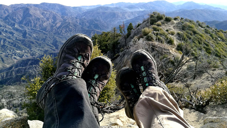 image of lightweight hiking shoes