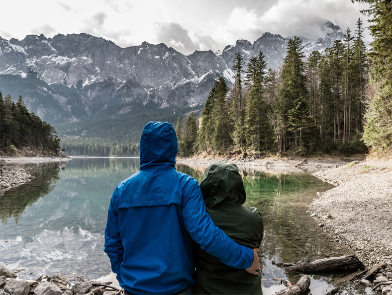 tips for hiking in the rain