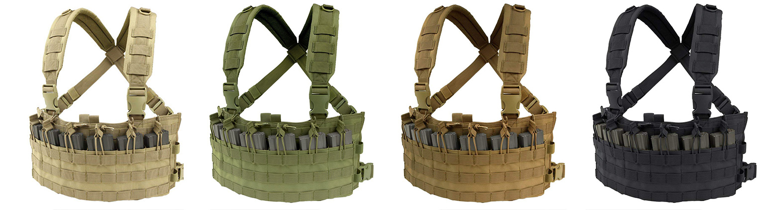 Condor Vest Color Variations