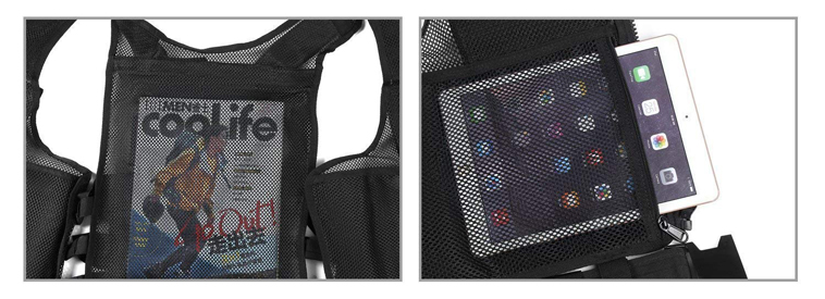 Magazin and Tablet In Tactical Vest