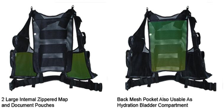 UTG Tactical West Internal Pockets