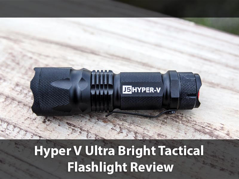 Hyper V Ultra Bright Tactical Flashlight
