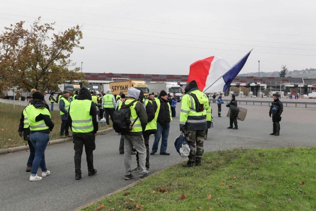 yellow vest mobilization